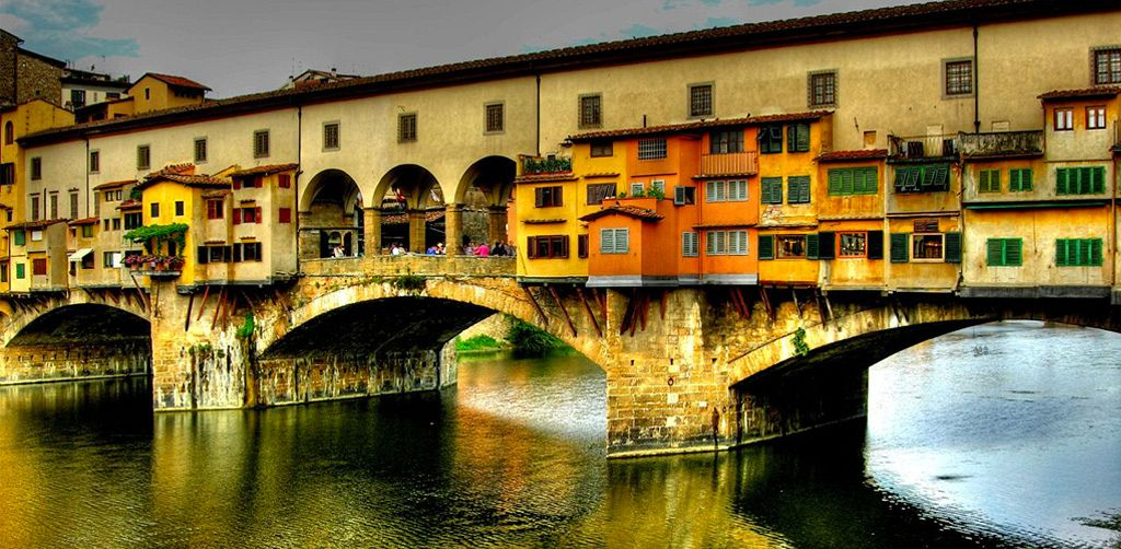 Traditional Gold and Silver on the Ponte Vecchio