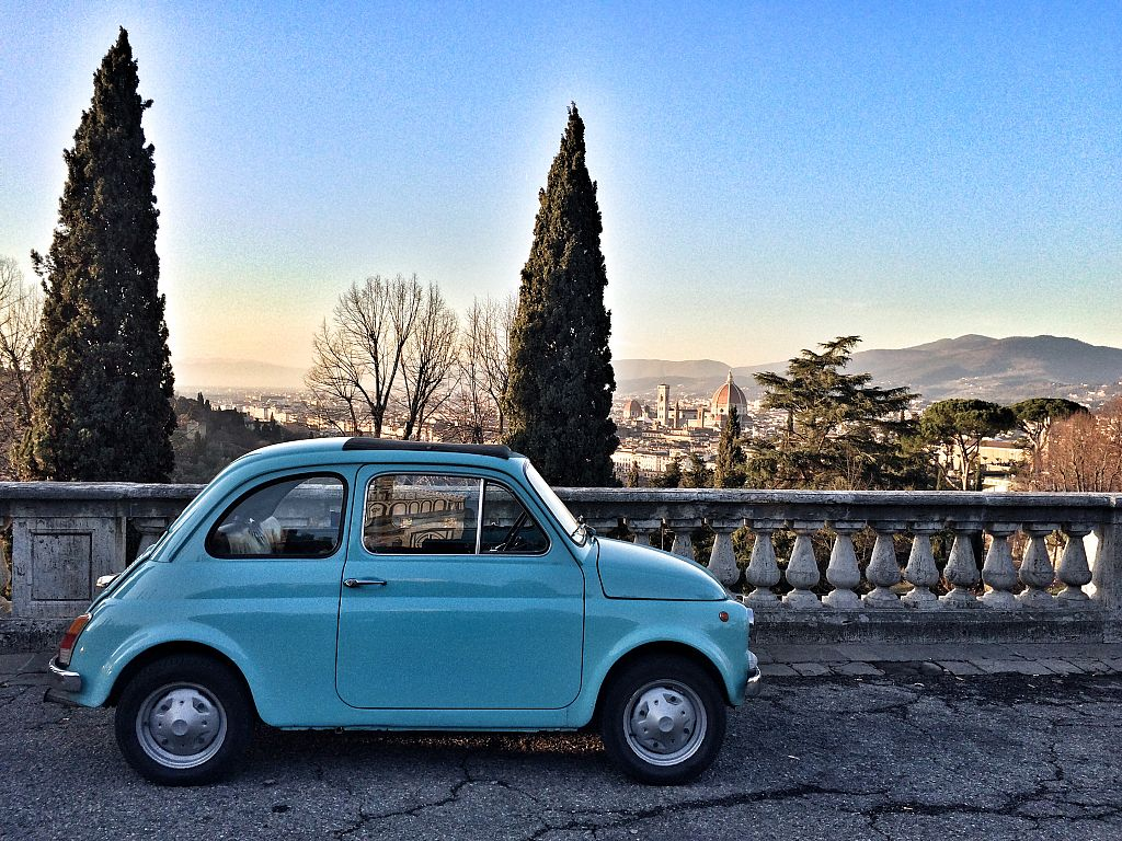 Fiat 500 Driving Tour - Half Day - Excursions from Florence