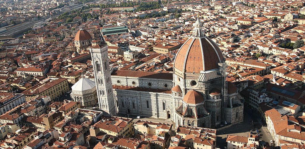 The Duomo square and its monuments